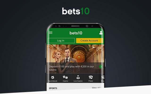 Bets10 mobil uygulama indir